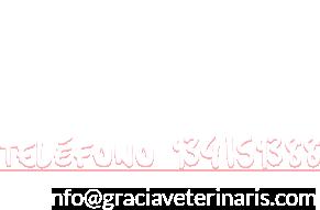 Teléfono 934159388 Email info@graciaveterinaris.com