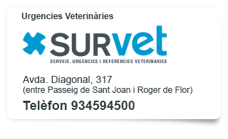 SURVET. Urgencies Veterinàries