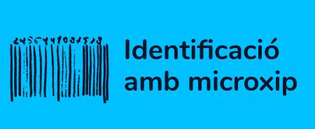 Identificació amb microxip